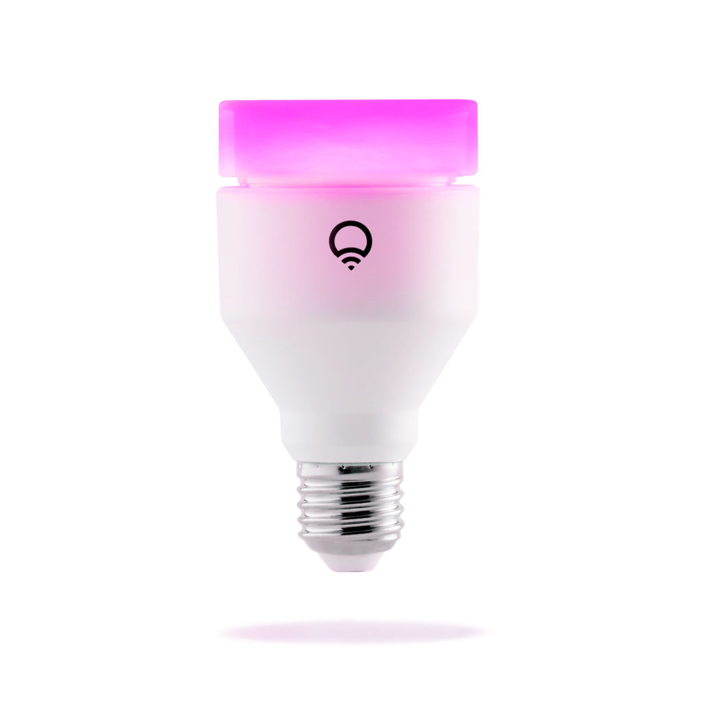 LIFX Color A19 - brightest climate-friendly smart LED light bulbs